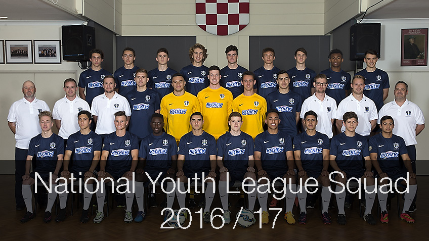 20161012 Youth Team Photo