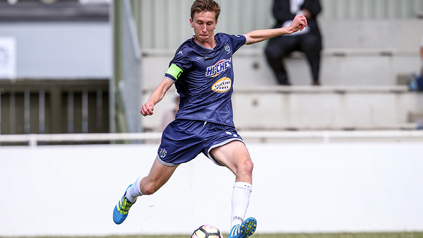 Navy Blues Youngsters Have Bright Future Auckland City Fc